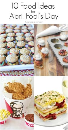10 Food Ideas for April Fools Day!  A fun way to celebrate with your family!