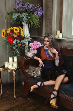 Editorial Love: Olivia Palermo in Velvet Magazine | Crazy Style Love