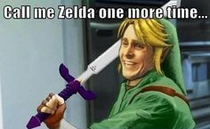 Call Me Zelda One More Time...  See more funny pics at killthehydra.com!
