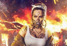 Raquel Sparrow's El Diablo Cosplay Is Mesmerizing