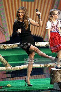 Celine Dion attends Wetten, dass..? from Halle an der Saale on November 9, 2013 in Halle an der Saale, Germany.