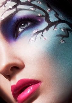 Talk about face as a canvas....LOVE THIS!!!