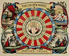 The Golden Wheel Fortune Teller