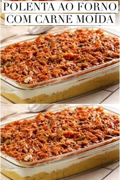 Polenta, Cooking Recipes, Healthy Recipes, Soul Food, Italian Recipes, Macaroni And Cheese, Food And Drink, Favorite Recipes, Yummy Food