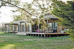 Una casa funcional y con aires escandinavos   ESPACIO LIVING