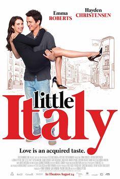Hayden Christensen and Emma Roberts in Little Italy . Movie To Watch List, Good Movies To Watch, Movie List, Movie Tv, Hayden Christensen, Jane Seymour, Little Italy, Hd Movies Online, 2018 Movies