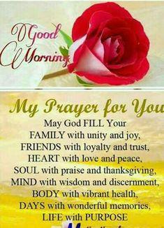 For each morning