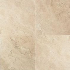 Daltile, Travertine Baja Cream 12 in. x 12 in. Natural Stone Floor and Wall Tile (10 sq. ft. / case), T72012121U at The Home Depot - Mobile