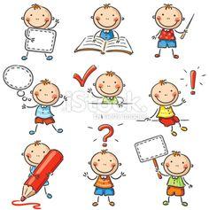 Boy Character Royalty Free Stock Vector Art Illustration