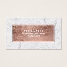 Makeup artist modern rose gold typography marble pack of standard business cards Hand Lettering Styles, Makeup Artist Business Cards, Rose Gold Foil, Typography, Things To Come, Marble, Modern, Design Services, Card Ideas