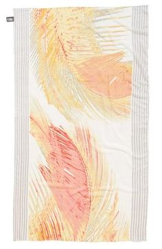 Cute Vince Camuto scarf. The tropical palm leaf print is great for spring.