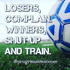 There is no point in complaining about the ref your teammates or coach the pitch conditions or anything else that is out of your control. Get over it and work to make tomorrow better. You can't change the past you can only influence the future.