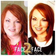 #facetofacefriday 😄 I used to use all the tricks in pics before... This one was taken the day before I cut & donated 12 inches of hair so I had my son take a picture of me... Standing on a chair so the camera would be above me so I would appear smaller. 😜 those days are gone now (but just so you know... NO ONE looks good with the camera angle from UNDER... it's just bad... Chins, shadows, unflattering for anyone no matter the size! If you know me you know this is MY BIG RULE!!! Lol) im…