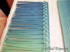 Turkish - basket weave (translate) #Polymer #Clay #Tutorials