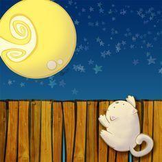 Cuento a la vista: El gato soñador