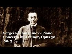 Rachmaninoff plays Rachmaninoff Piano concerto in D minor, opus 30 n° 3 ...