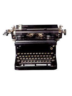 14. Typewriter
