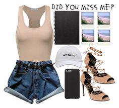 •Did You Miss Me?• by d-swisher on Polyvore featuring polyvore мода style Yves Saint Laurent Case-Mate Muji Polaroid fashion clothing