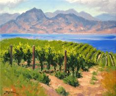 Robert E Wood - Lake Breeze Vineyard