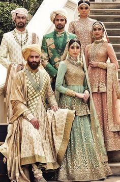 Find your wedding outfit from Sabyasachi Mukherjee SS 2016 indian bridal collection! From traditional lehengas to floral modern bridal options