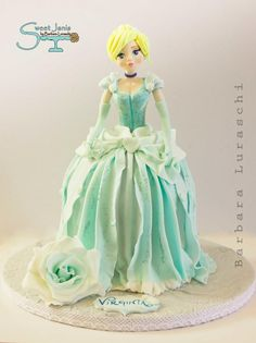 Cinderella - Cake by Sweet Janis