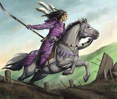Utaku Liu-Xeung was a bushi and battle maiden of the Unicorn Clan. Liu-Xeung fought alongside the Crab Clan during the Destroyer War. Fantasy Characters, Female Characters, Fictional Characters, Female Samurai, Oriental, Dynasty Warriors, L5r, Paladin, Dungeons And Dragons