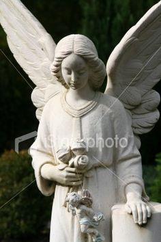 angel tombstones