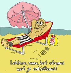Nederlands rechtssysteem.. Lekker naar het strand met je enkelband..