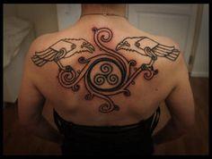 Nordic Raven tattoo by ~Meatshop-Tattoo on deviantART
