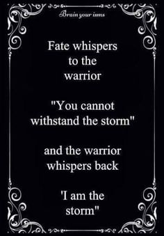 I am the storm                                                                                                                                                                                 More