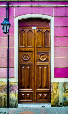 Incredible Carved Wood Door from Tunja, Boyacá, Colombia