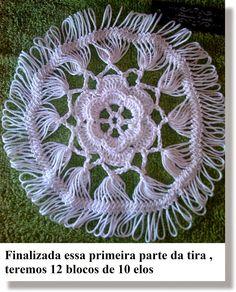 Pap Pentagonal da  Túnica Eliana Hairpin Crochet Pattern, Hairpin Lace Patterns, Crochet Diagram, Crochet Motif, Crochet Designs, Crochet Lace, Crochet Chart, Crochet Patterns, Broomstick Lace