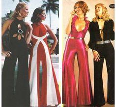 Roupas femininas dos anos 70 - fotos, dicas 21