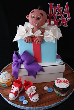 It's a Boy! by Andrea's SweetCakes, via Flickr