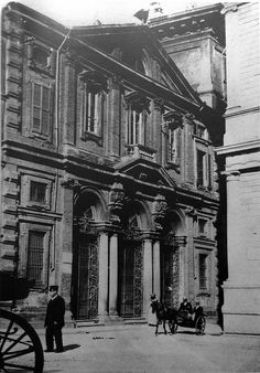 San Giovanni decollato alle Case Rotte da piazza della Scala