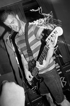"""The Motorleague live @ Crobar, Montréal, 21/06/2012. Black and white film photography by François Carl Duguay. rder a 16"""" x 20"""" silverprint over at www.laligneaharde.com """"$40"""""""