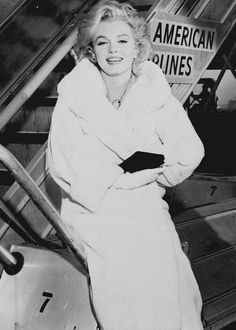 Marilyn Monroe after completing Some Like It Hot, 23 Nov 1958