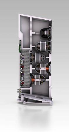 Paradigm Concept 4F speakers.