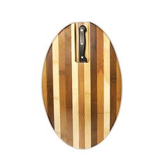 Oval Cutting Board with Serrated Knife C$40.00