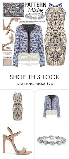 """Pattern Mix Master"" by vanjazivadinovic ❤ liked on Polyvore featuring Rebecca Minkoff, Harry Kotlar, Urban Decay and Hedi Slimane"