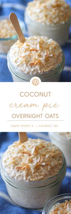 Could You Eat Pizza With Sort Two Diabetic Issues? Coconut Cream Pie Overnight Oats With Gluten Free Options Breakfast And Brunch, Mexican Breakfast, Breakfast Pizza, Breakfast Cookies, Breakfast Bowls, Breakfast Smoothies, Brunch Recipes, Breakfast Recipes, Breakfast Sandwiches
