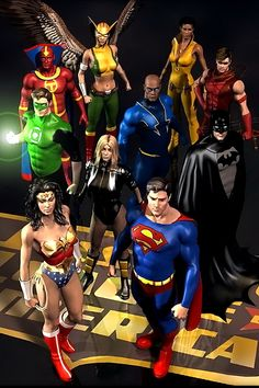 Superman & Justice League