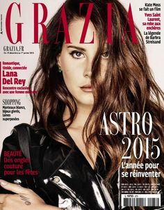 Lana Del Rey Covers Grazia France // Photo by: Thomas Nutzl