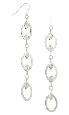 Jewelry Design - Earrings with Silver-Plated Brass Drops and Fold-Over Bails - Fire Mountain Gems and Beads