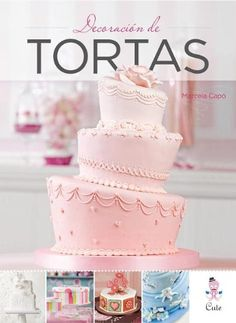Decoracion de Tortas = Cake Decoration (Spanish Edition) by Marcela Capo http://www.amazon.com/dp/9871903251/ref=cm_sw_r_pi_dp_hm3Oub0GMV9FX