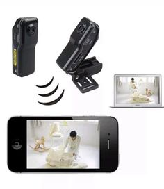 WiFi spy camera nanny cam wireless video security recorder HD camcorder new A1 #Wifi