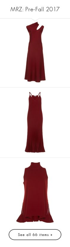 """MRZ: Pre-Fall 2017"" by livnd ❤ liked on Polyvore featuring mrz, livndfashion, prefall2017, dresses, burgundy, cutout dresses, burgundy dress, high neck cutout dress, high neckline dress and high neck dress"