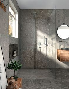 Terrazo Wall Bathroom Ideas - Home of Pondo - Home Design