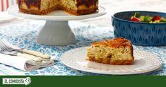 Esta tarta de queso con puerros que te proponemos es nuestra forma de decirte que vale, que sí, que nos unimos a la fiebre del cheesecake . Y que aportamos, además, nuestra propia receta. Calzone, Cheesecakes, Banana Bread, French Toast, Good Food, Cooking, Breakfast, Sweet, Desserts