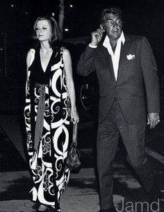 Dean Martin and third wife, Cathy Hawn